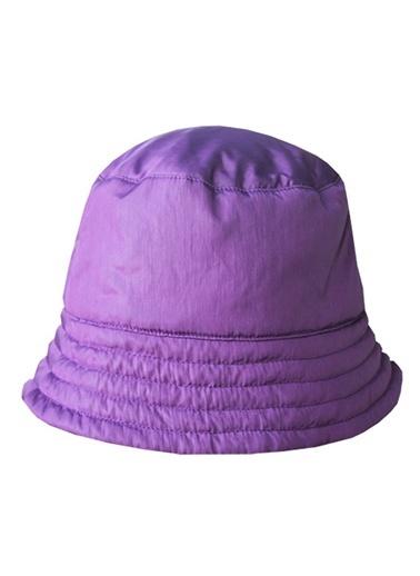 Karamela Şapka Mürdüm